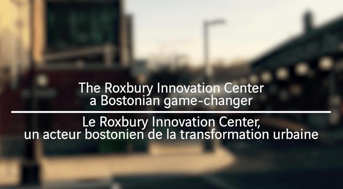 Roxbury Innovation Center - video