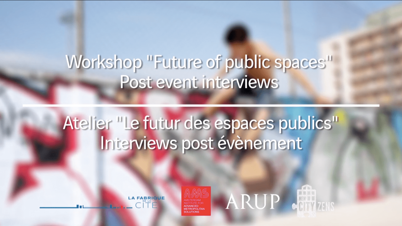 Le futur des espaces publics - Alain Renk, UFO