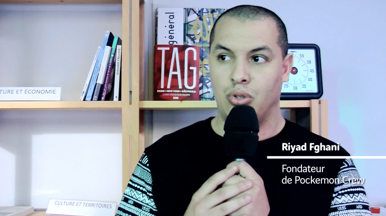 Le futur des espaces publics - Riyad Fghani, Pockemon Crew