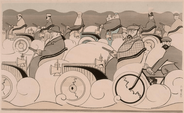 """Auguste Roubille, """"Les Souverains"""" © RMN-Grand Palais (domaine de Compiègne)—Gérard Blot"""