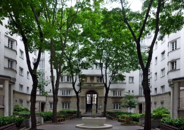 Logement social de Reumann-Hof à Vienne