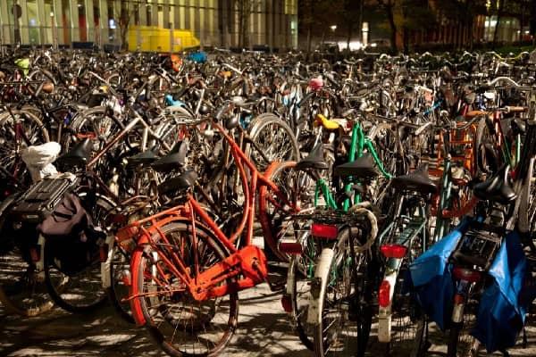 Bikes - Credits: Udo Geisler CC BY 2.0,