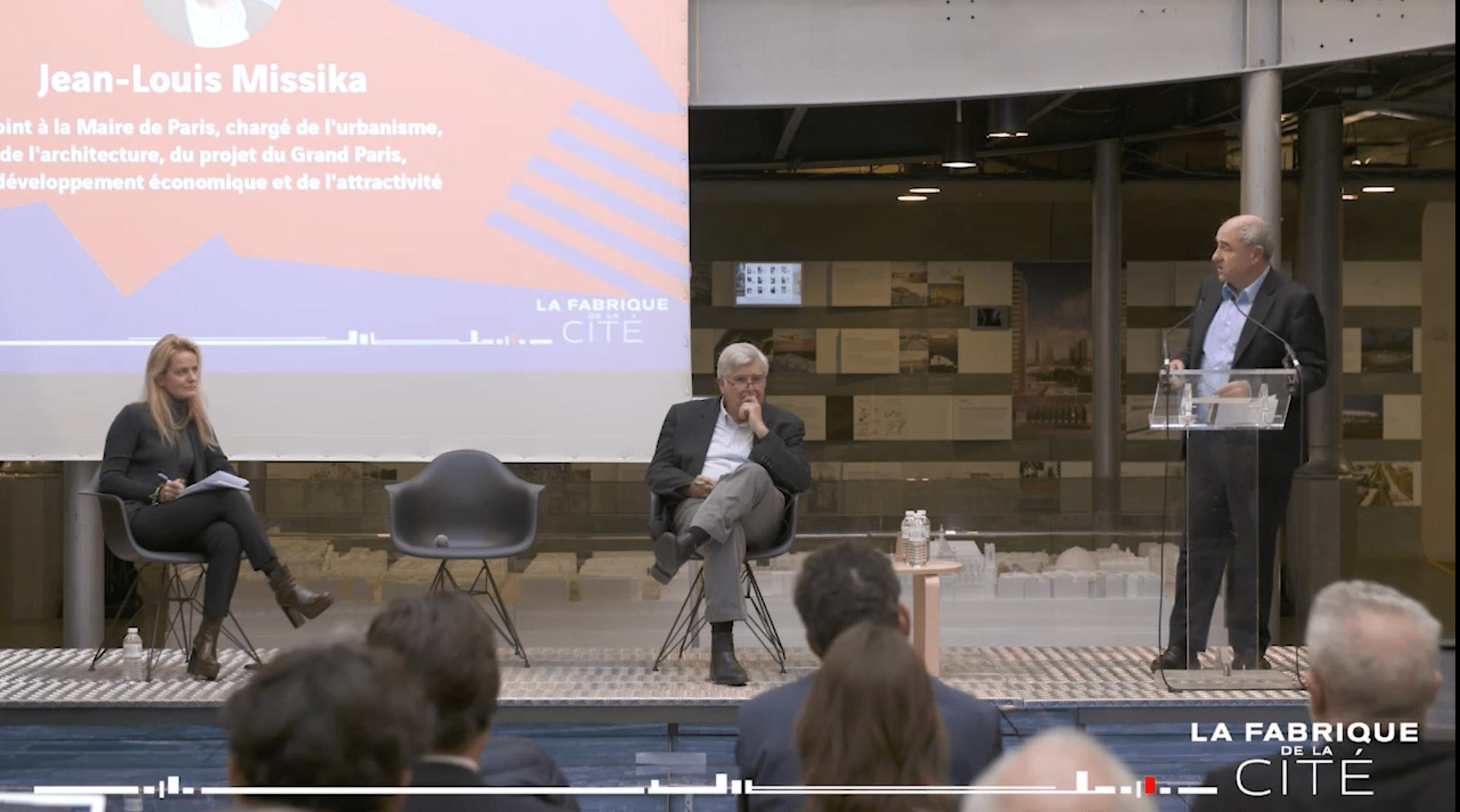 Voeux de La Fabrique de la Cité 2018 - Pierre Veltz et Jean-Louis Missika