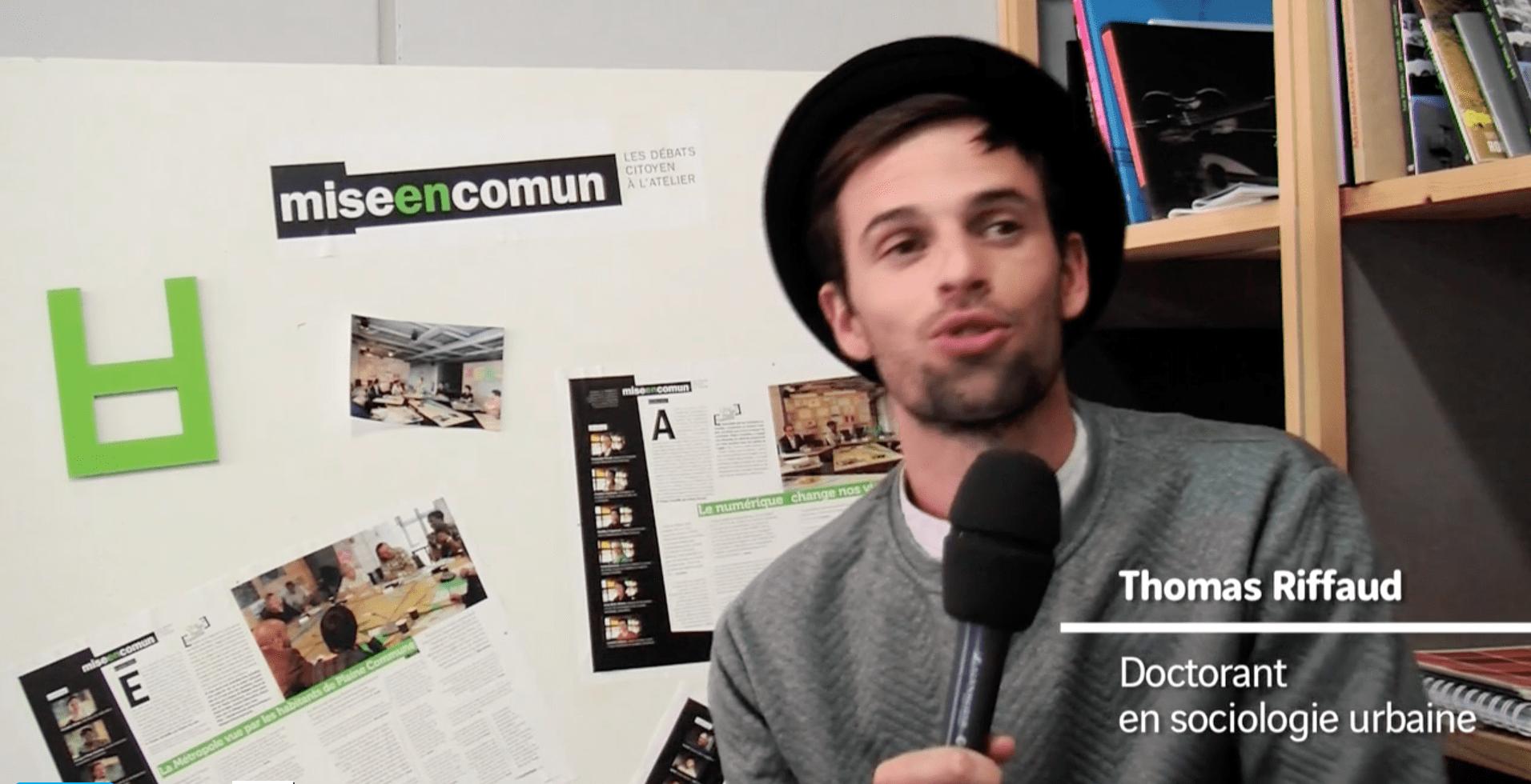 Le futur des espaces publics - Thomas Riffaud, doctorant en sociologie urbaine