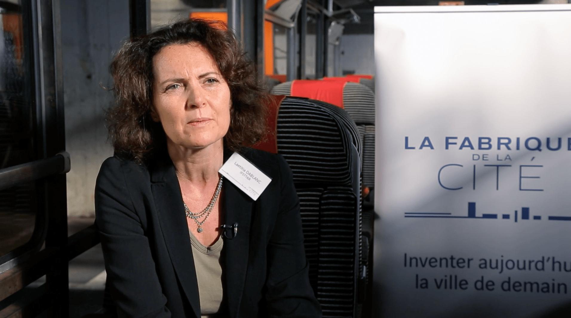 Laetitia Dablanc, directrice de recherche à l'IFSTTAR