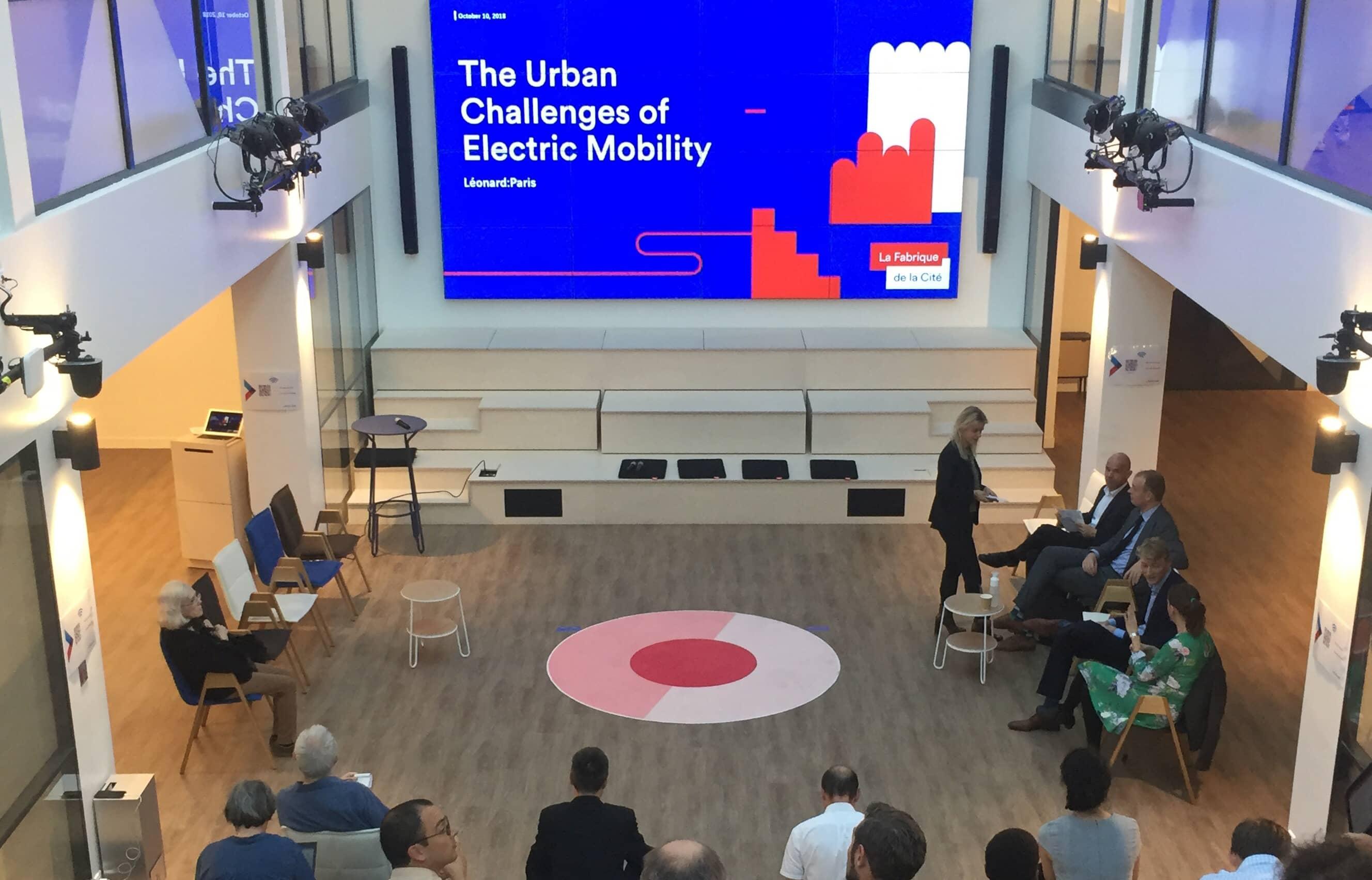 Les défis urbains de la mobilité électrique - 10102018