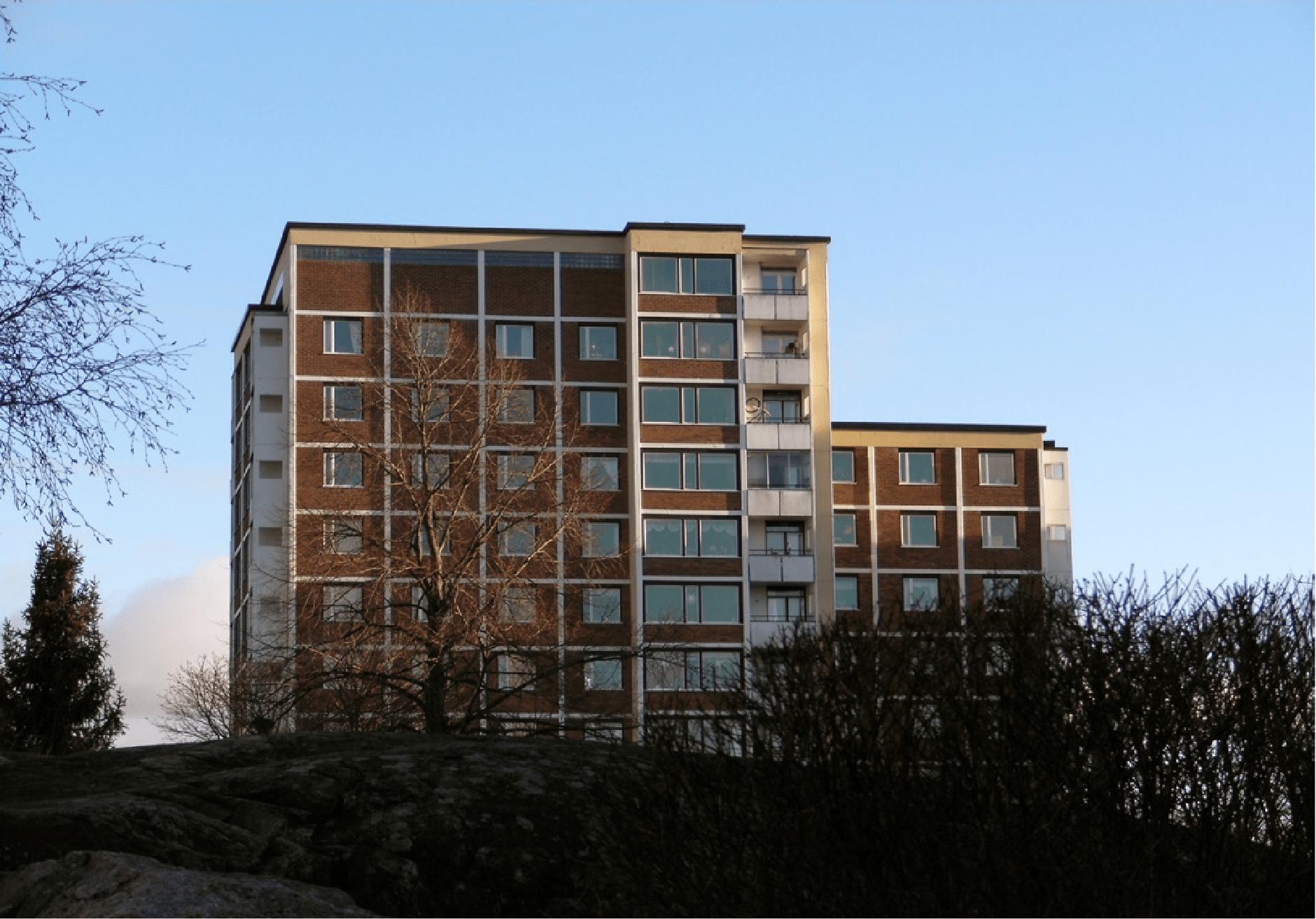 « Million Programme », Gröndal, Suède