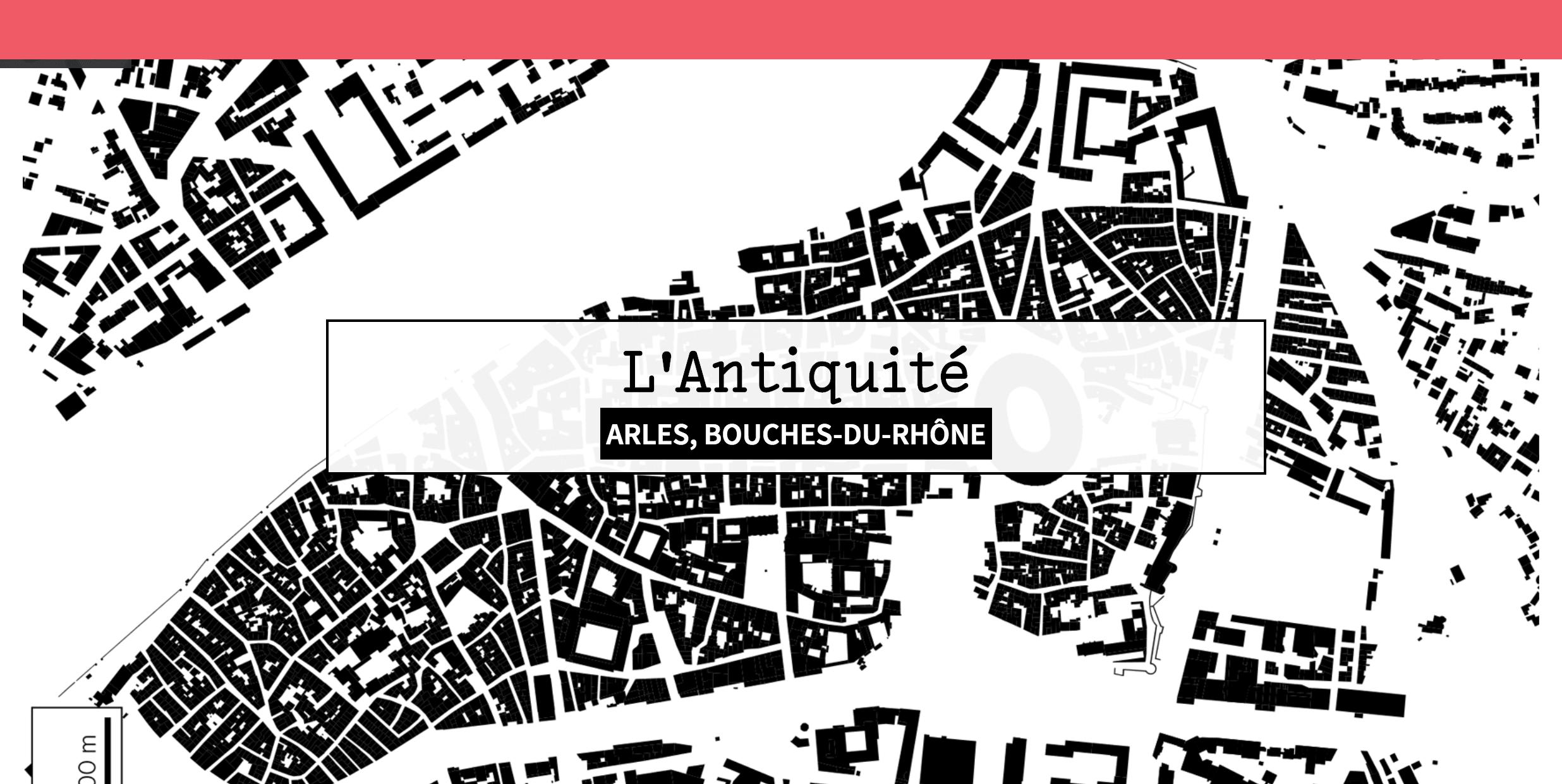 Arles - carte Les Echos