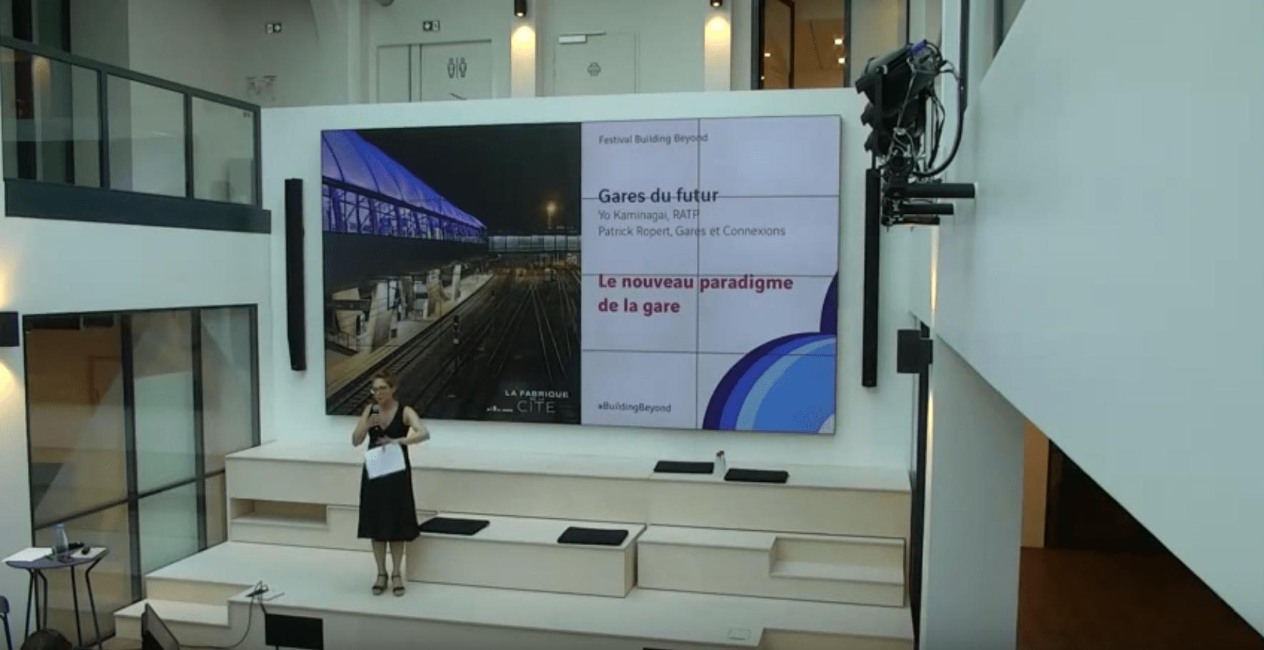 Gares du futur - festival building beyond