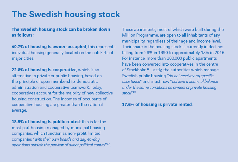 Stockholm: a universalist vision of housing tested by shortages | La