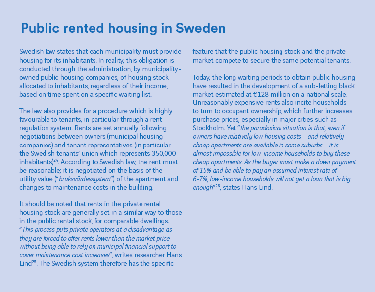 Stockholm: a universalist vision of housing tested by