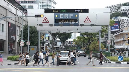 Péage urbain de Singapour