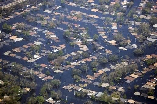 Ourangan Katrina, Nouvelle Orléans