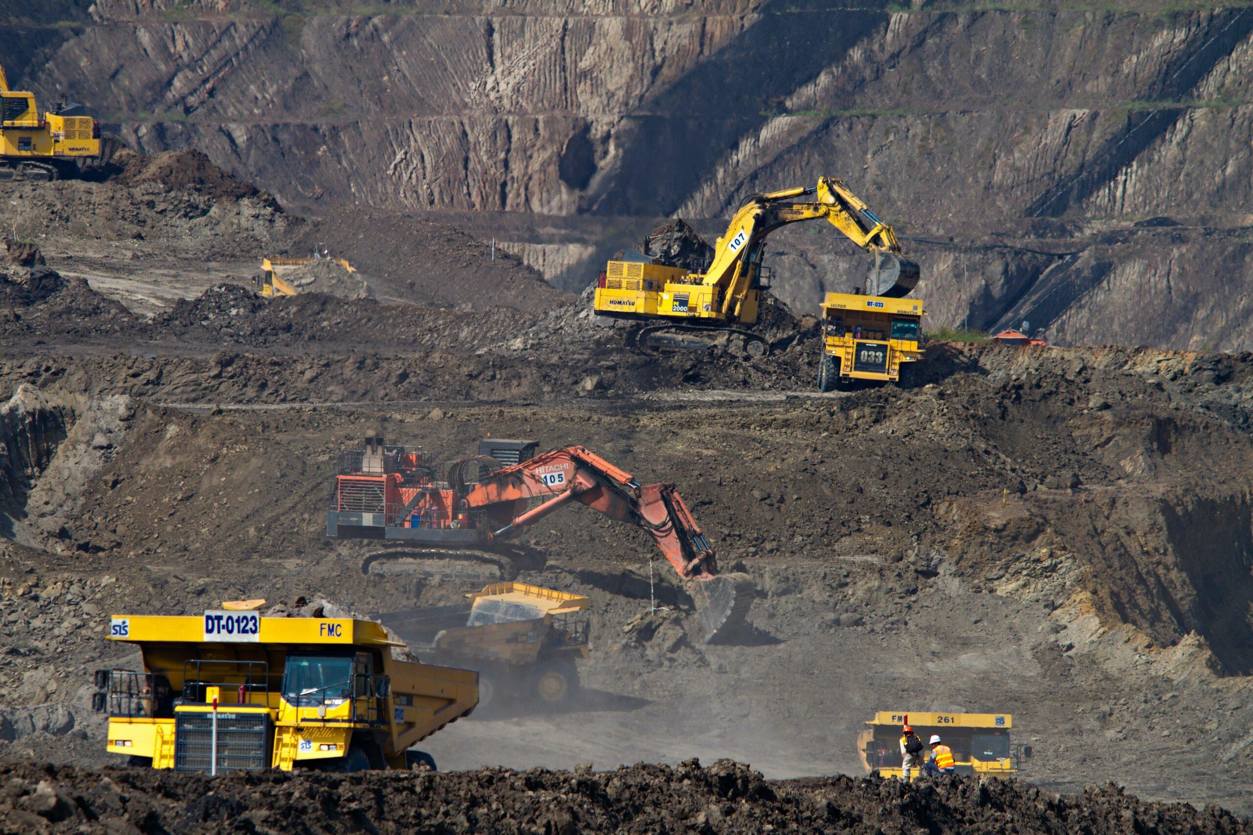 Mines de charbon, Indonésie / Coal Mines, Indonesia