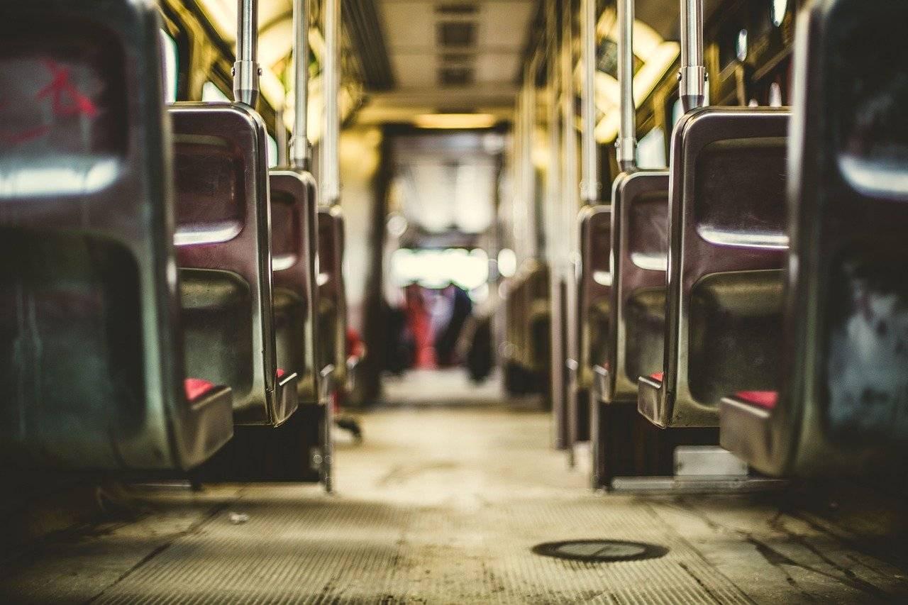 Transport en commun vide