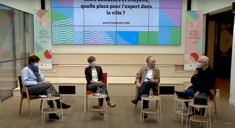 Entre décideurs et citoyens, quelle place pour l'expert dans la ville ? – Festival Building Beyond 2020