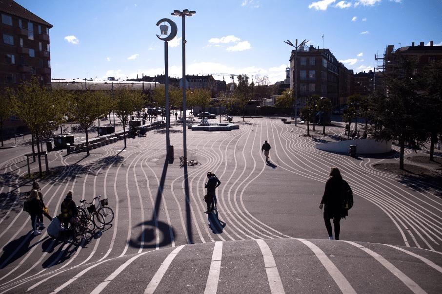 Le parc urbain linéaire Superkilen à Copenhague