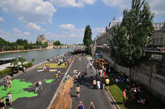 Berges de Seine à Paris