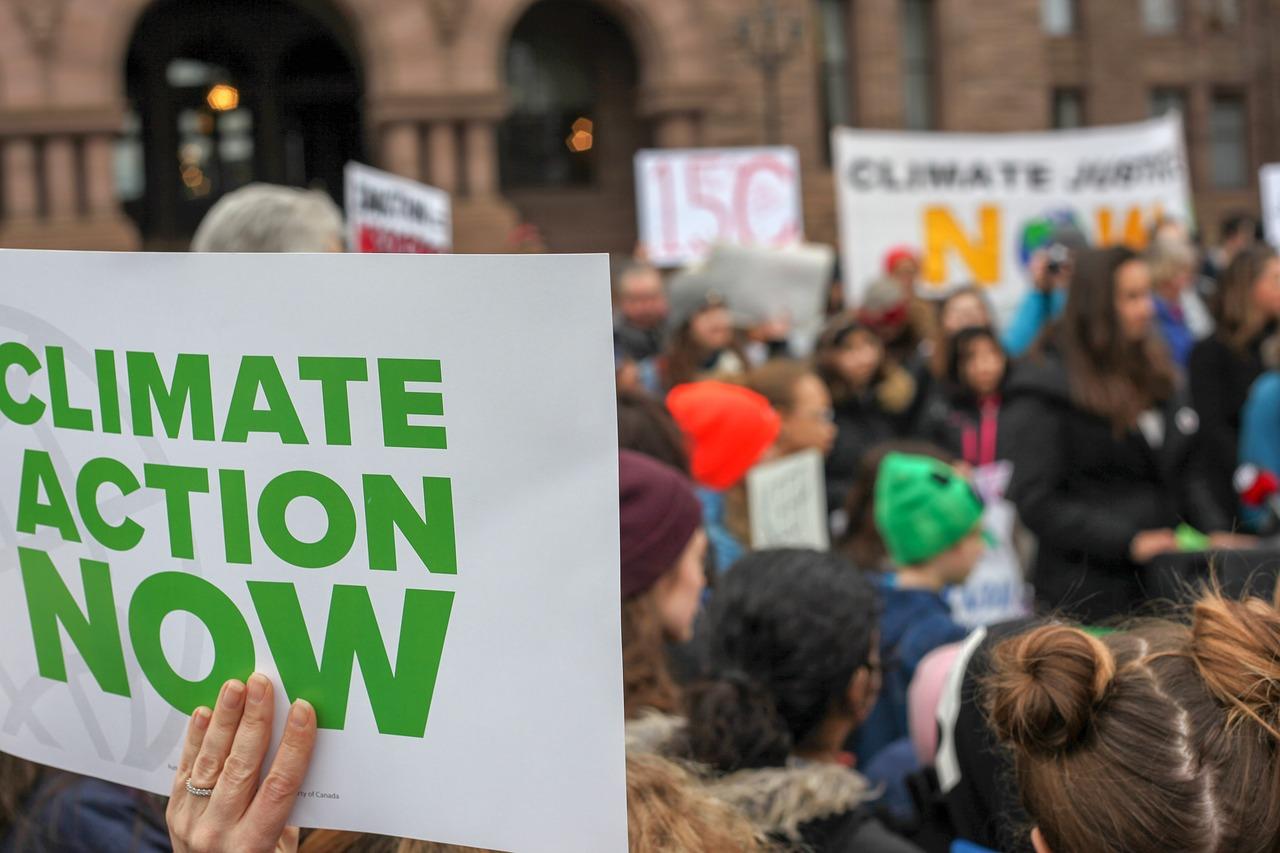 Manifestation pour le climat / Climate action
