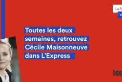 Cécile Maisonneuve dans l'Express